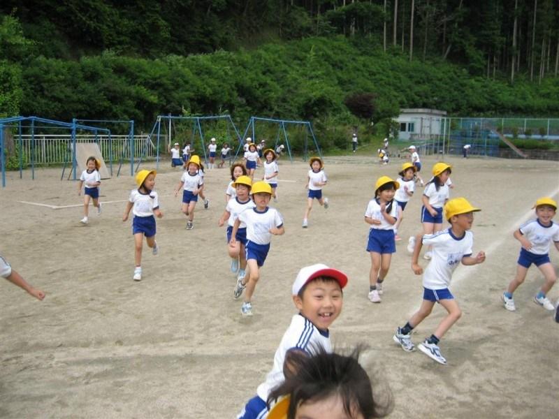 Schoolyard mayhem