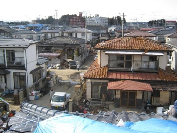 Shiogama rooftop
