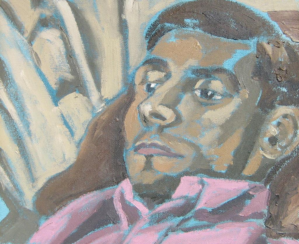 Michael 2 8.75x10.75 oil on canvas low contrast