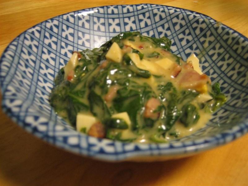 Creamed Spinach — Yummm!