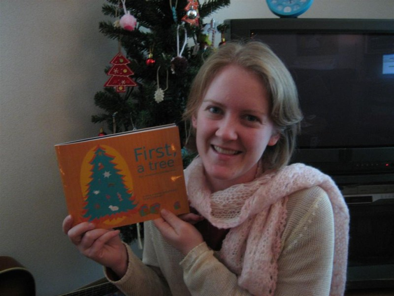 """""""First, A Tree"""": Jen's New Christmas Book Is Here!!!"""