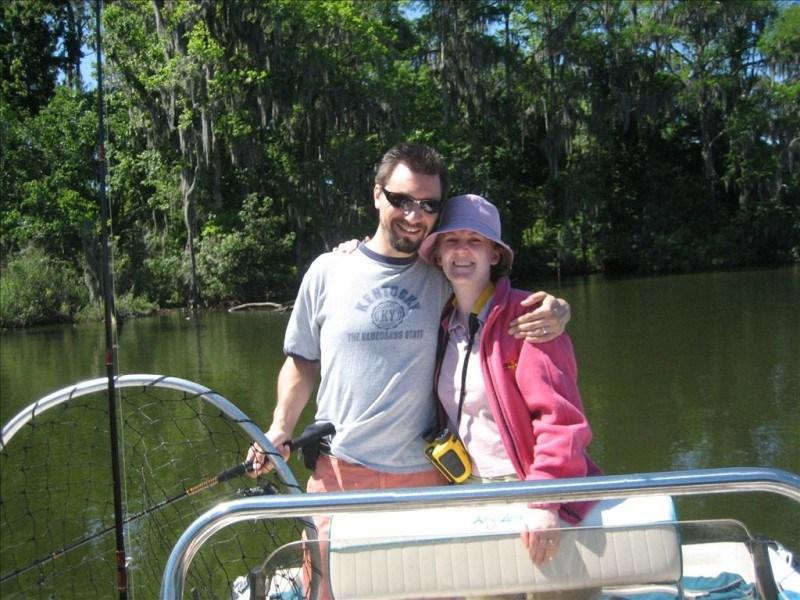 Mike & Jen Fishing