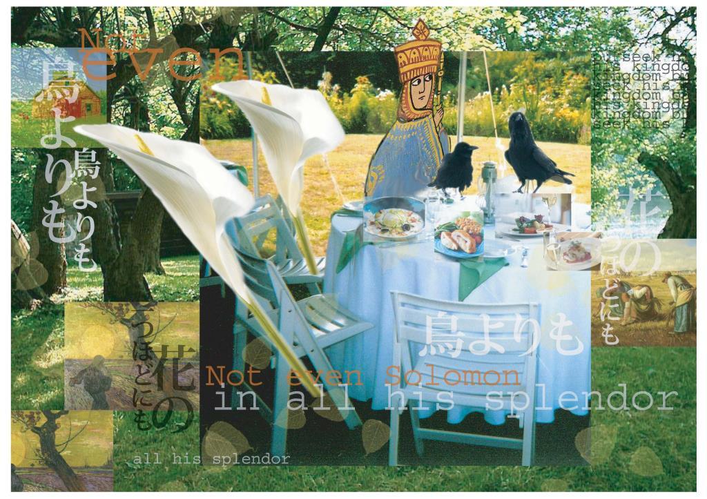 Luke 12 Banquet photomontage
