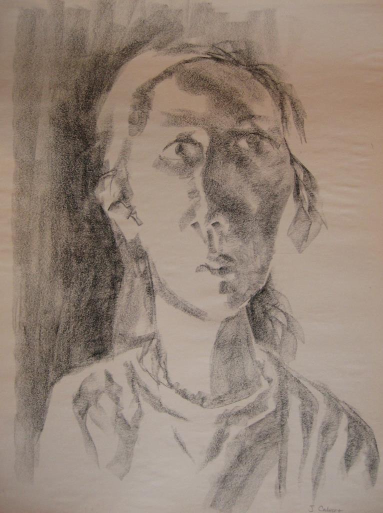Portrait Charcoal ~18x20 charcoal