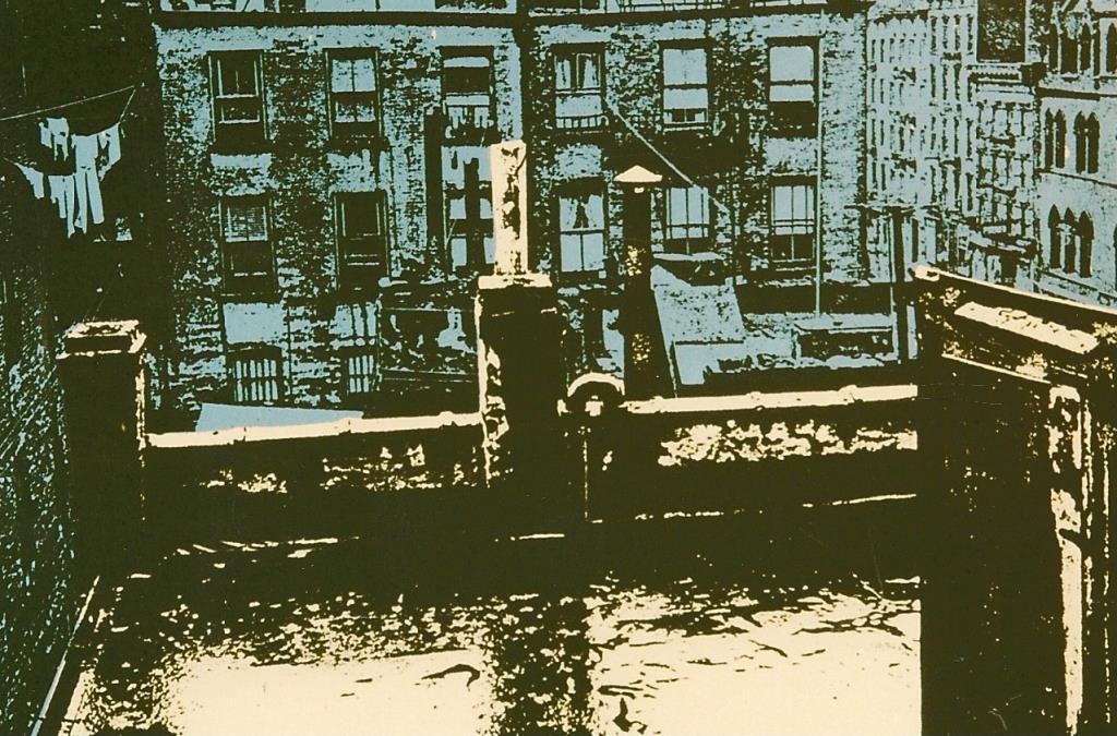 Pumpernickel Street 8.5x5.75 silkscreen series of 20